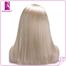 Blonde European Full Lace Jewish Wigs Fine Virgin CuticLe Human Hair