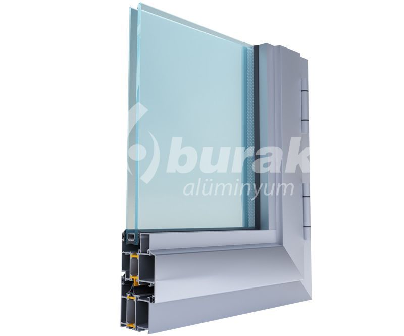 Y-55 Thermal Break Aluminium Window (High Quality)