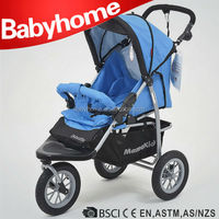 Australia 3 big air wheel baby jogger stroller baby pram tricycle