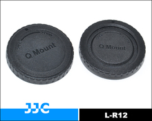 JJC L-R12 Front and Rear Lens Cap for Pentax Q mount lens and Pentax Q mount Digital Cameras