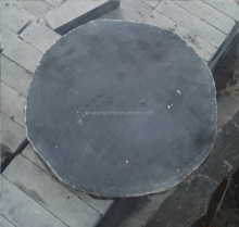 Factory supply Chinese blue limestone stepping stone D50x4cm
