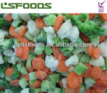 Chinese hot sale Frozen IQF California mixed vegetable