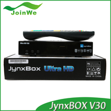 V30 fta satellite receiver Smart Tv Box Jynxbox Ultra Hd V30 With Jb200,Wifi Antenna And Full Hd 1080p For North America TV Box