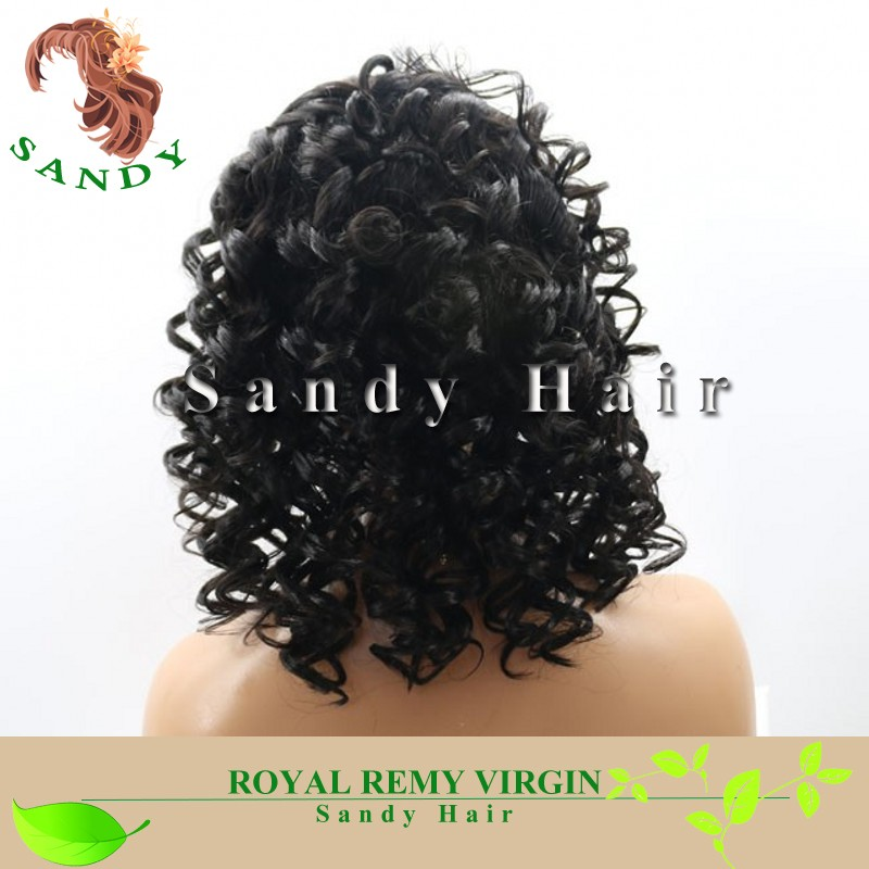 indian jerry curl human hair full lace wig high density high ponytail full lace wigs with baby hair