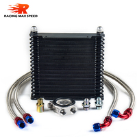 wholesale universal racing car trust row 17 motorcycle oil cooler radiator
