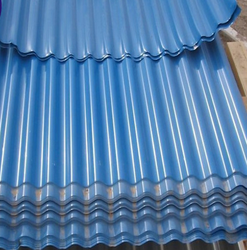 Color Zinc Coating 28 Gauge Corrugated Metal Din Steel Roofing Sheet Tiles For Roofing Panel