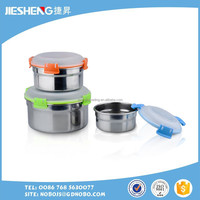 airtight metal stainless steel bulk food storage container