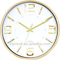 Unique Clock WH-6923C Gold Frame And Numbers