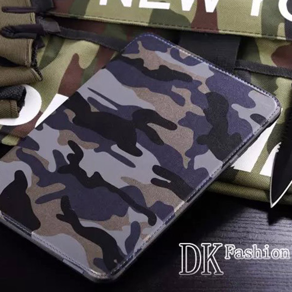 Camouflage Shock Proof Soft Silicone Skin Case Cover For Apple iPad mini 1 2 3