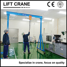 Warehouse Lifting and Moving Small Gantry Mini Mobile Crane for Sale