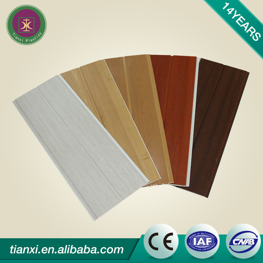 2017 types of false suspended pvc ceiling panel board materials price