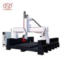 Hot sale cnc side cutting / 3D CNC milling machine for foam wood aluminum furniture molding moulding