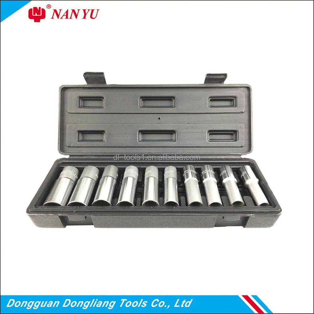 11PC 1/2DR 12PT Deep Socket Set Auto Tool