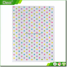 Color diversity pp plastic document holder, multi-function Office gift custom file folder