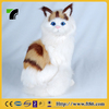 furry wholesale fur stuffed handmade real looking cat animal toy