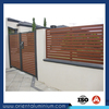 Aluminum wooden slat for fence
