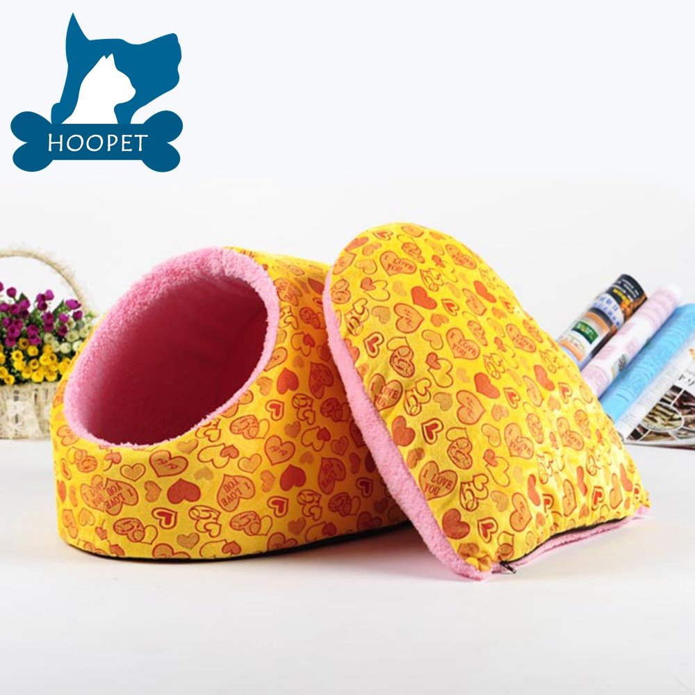 Dog bed manufacturer for outside and indoor yellow dog and cat house