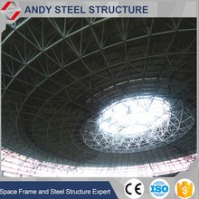 Light steel sports hall stadium steel space frame roof system building