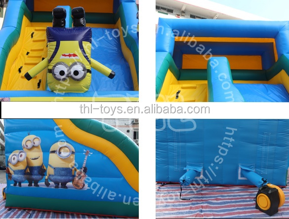 2019 Outdoor commercial outdoor inflatable water slide for kids