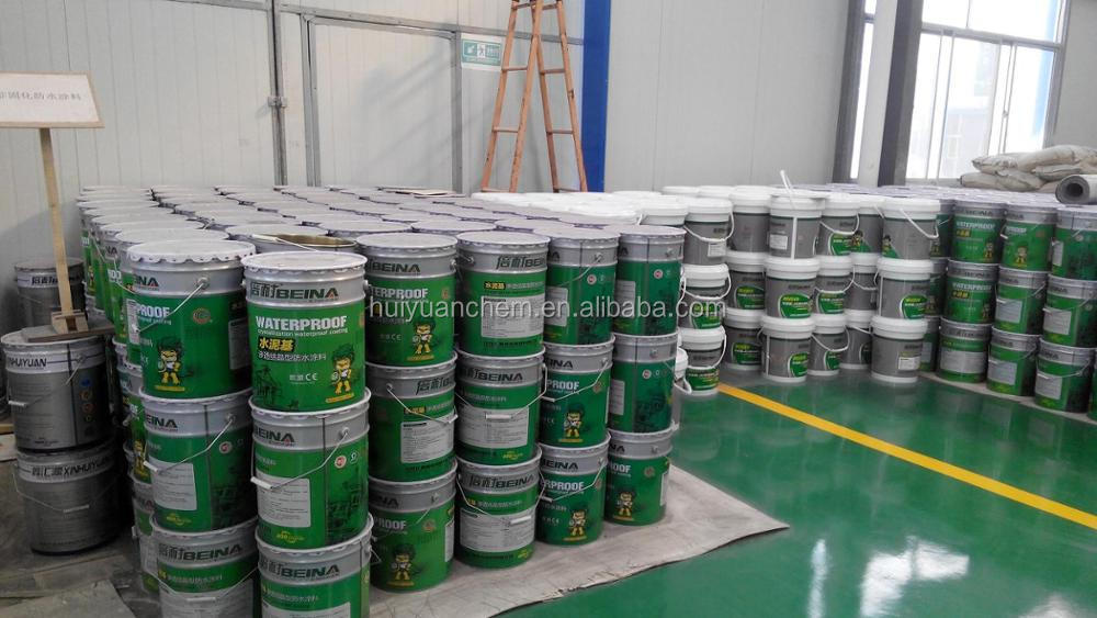 spray polyurea waterproof coating and bitumen primer for waterproofing