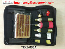 Good Quality Tire Repair Tool Kit in Black Zipper Bag 19PCS SET