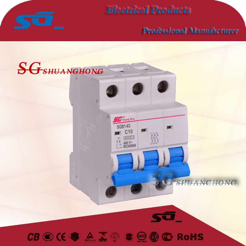Square d by schneider electric mg24113 supplementary protector 277v 4amp 1p