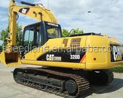Used (325B, 25ton) Hydraulic Crawler with Well-Maintenance (132HP)