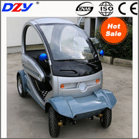 full closed elderly adult new energy electric car four wheeler solar mini vehicle