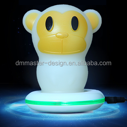 Rechargeable LED Baby Night Light Wireless Charging Light Up Toys