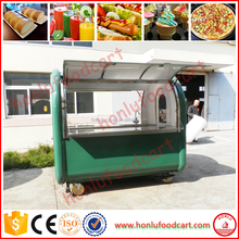 High efficiency food truck van/food bus/coffee truck for sale