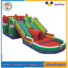 0.55mm PVC tarpaulin inflatable bounce house inflatable jumping castle for kids