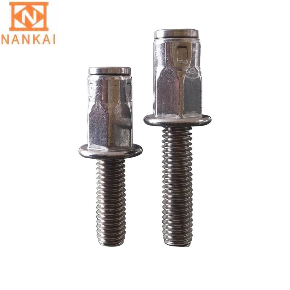 OEM stainless steel hexagon and round head nut bolt