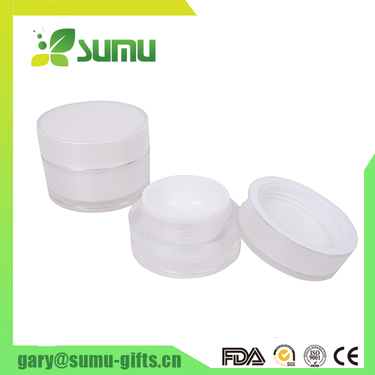 High quality eco friendly cosmetic cream jar 15/30/50g