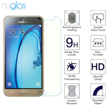 2016 new 9h 0.3mm with high quality explosion pureglas tempered glass screen protector for Samsung galaxy J3 2016