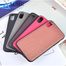 new cloth pattern fashion phone case TPU + PC all-inclusive leather case for iPhone X