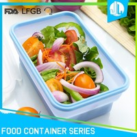 Hot selling kitchen silicone airtight containers for storage