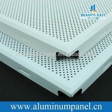 GuangZhou Square Aluminum Perforated Ceiling Panel For Interior Decorative