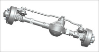 truck front drive axle for sale
