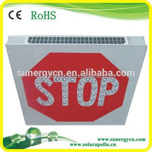 55 LED Solar Powered Traffic Signal Highway Roadway Safety Traffic Signal