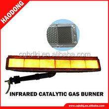 Powder curing coating oven gas infrared radiant panel heater HD242