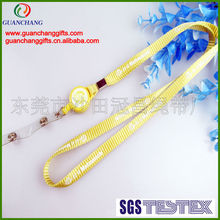 Retractable breakaway safety lanyards strap for neck wear