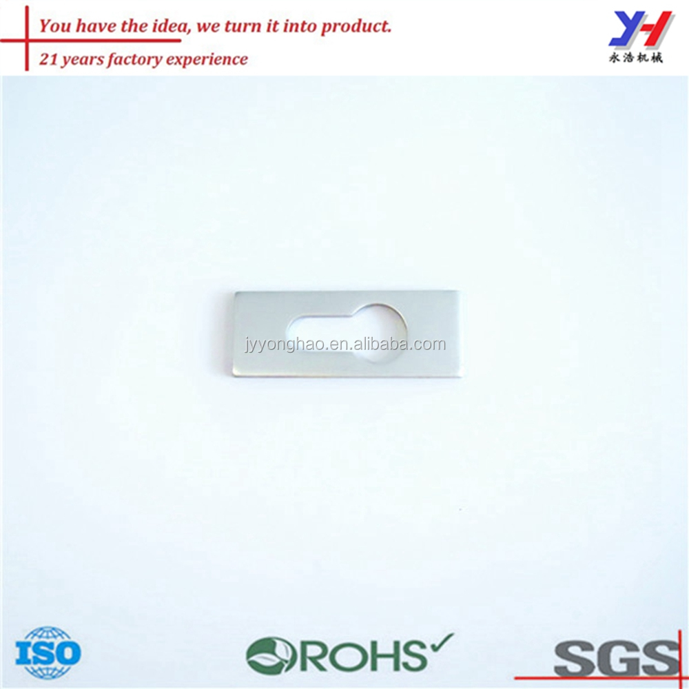 OEM ODM good quality cheap precision aluminum lock parts supplier