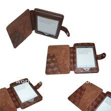 Art Style Leather Case for Amazon Kindle Touch /kindle 4 E-Reader