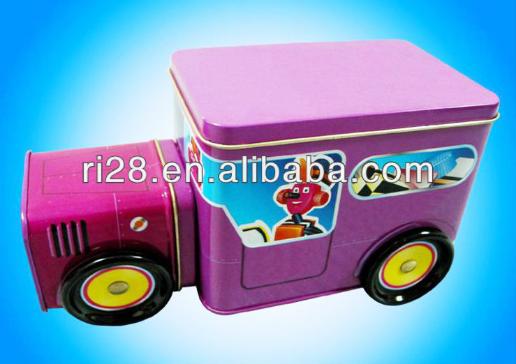 Tin autotruck container