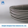 SUS304 ASTM316L stainless steel corrugated flexible hose