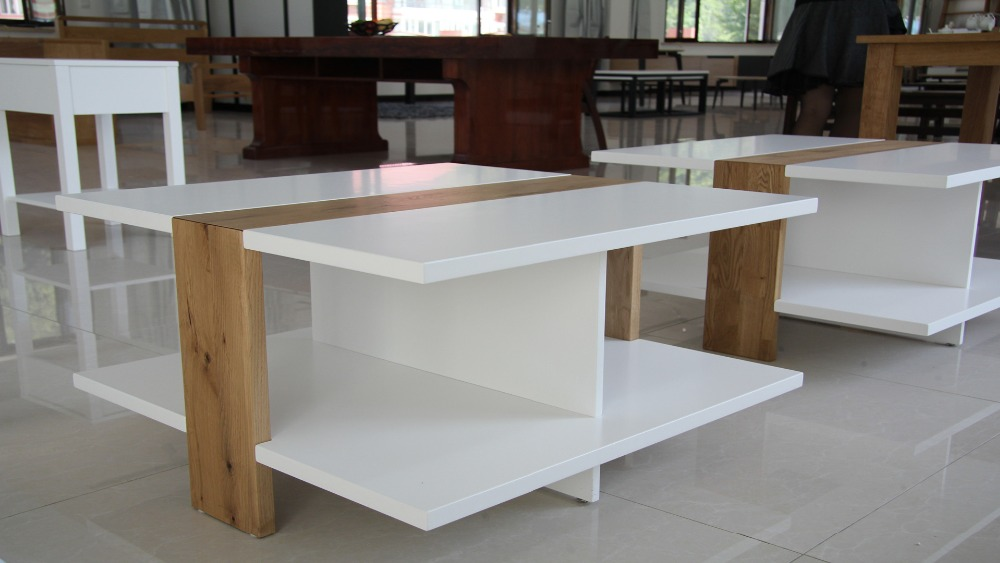 solid wood dining coffee table