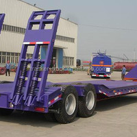 Famous Minghang Brand Lowbed Semi Trailer