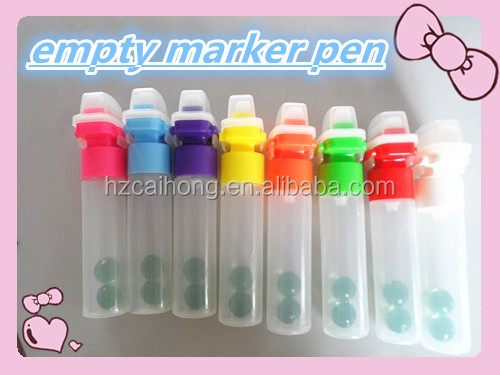 empty paint marker , window marker CH3204 with 30mm nib, small order accept