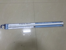 Aluminum pvc coated innerspring 19/22mm shower rod