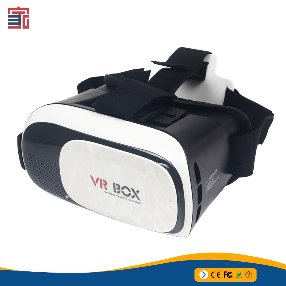 ODM OEM 2nd generation google shenzhen 3d glasses vr box with remote